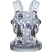 BabyBjorn Baby Carrier One (Leaf Print/Pale Blue)