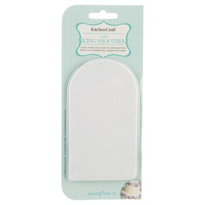KitchenCraft Sweetly Does It Acrylic Icing Smoother