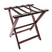 Woodluv Pinewood Foldable Luggage Rack