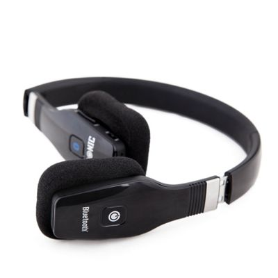 Duronic HP50/BK Foldable On Ear Lightweight Bluetooth Headphones