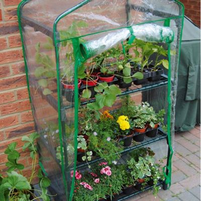 Mini Patio Greenhouse   1 Mini Greenhouse