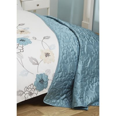 Cascade Home May Applique Bedspread - 150x220cm