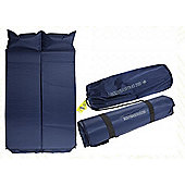 Summit 2.5cm Double Self Inflating Mattress & Pillow
