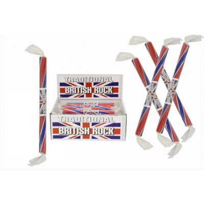 20 Medium Flavoured Rock Sticks - British Flavour