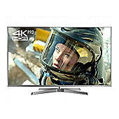 "Panasonic TX50EX750B 50"" 4K Pro Ultra HD LED 3D TV with Freeview Play - Silver"