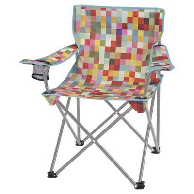 Buy Tesco Folding Camping Festival Chair, Colour Block ...
