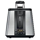 Hotpoint TT 22E UM0 UK Toaster - Stainless Steel