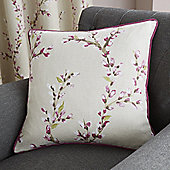 Fusion Hemsworth Raspberry Cushion Cover 43x43cm