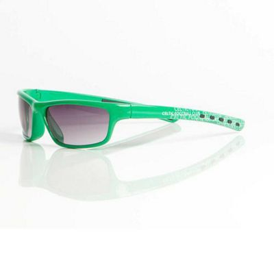 Cletic Fan Frames Junior/Teen Wrap Sunglasses - Green