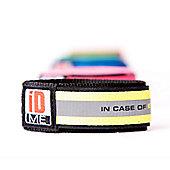 iDME Kids Safety Reflective iD Wristband Medium