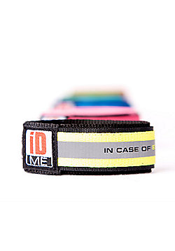 iDME Kids Safety Reflective iD Wristband Medium