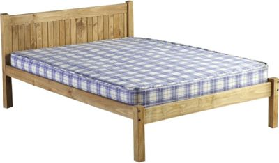 Home Essence Colorado Low Foot End Bed Frame - Double (4' 6