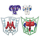 Transformers Robots in Disguise Mini-Con Figure 4 Pack (Styles Vary)