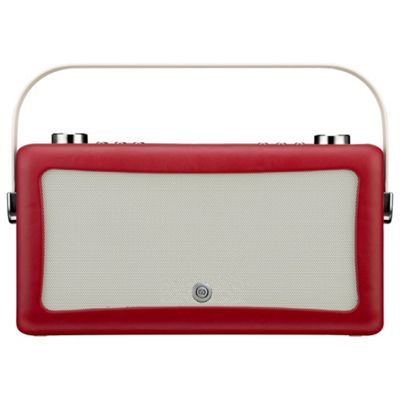 VQ Hepburn MKII DAB Radio & Bluetooth Speaker, red