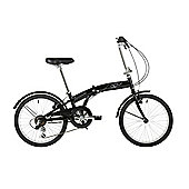 "Barracuda Apus 20"" Folding Unisex Bike Black"