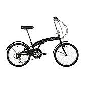 "Barracuda Apus 20"" Folding Unisex Bike Black"