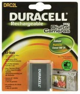 Duracell DRC2L Lithium-Ion (Li-Ion) 650mAh 7.4V rechargeable battery