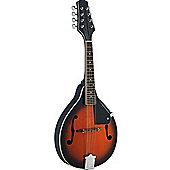 Stagg M20 S Solid Spruce Top Mandolin - Violinburst