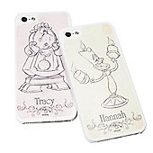 Beauty and the Beast Personalised Design iPhone 5/5s Cover