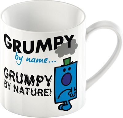 Mr. Men Mr. Grumpy Ceramic Mug by Creative Tops 5139326