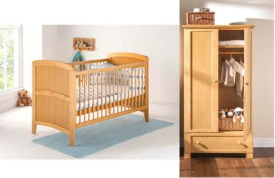 East Coast Venice 2 Piece Nursery Room Set (Antique)