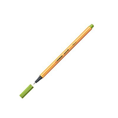 Stabilo Point 88 Fineliner Pen Apple Green 33
