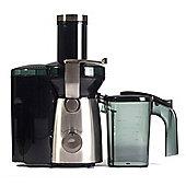 Igenix IG8810 1000W Whole Fruit Juicer - Brushed Stainless Steel
