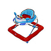 Bebe Style Car Themed Baby Walker - Red & Blue