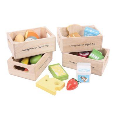 Bigjigs Toys Healthy Eating Dairy Food Set