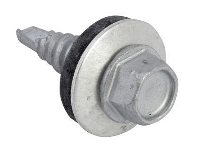 Forgefix TechFast Hex Head Stitching Screw Self Drill 6.3x22mm Pack 100