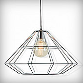 Cult Living Silver Geometric Pendant Lamp