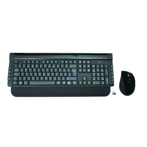 Slim Wireless Keyboard and Mouse Deskset