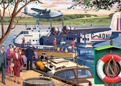 Empire Flying Boats - 1000pc Puzzle