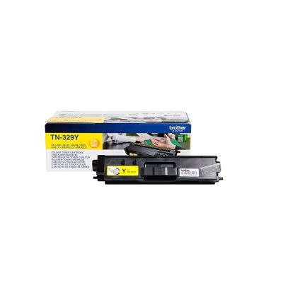 Brother TN-329Y Yellow Toner Cartridge (6000 Pages)