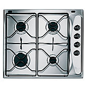 Whirlpool AKM260IX 60cm Built-in 4 Burner Gas Hob in Stainless Steel