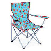 Trail Watermelon Folding Festival Chair - Blue