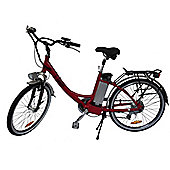 "Electric ETourer Red - 26"" wheel ebike"