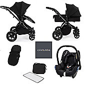 ickle bubba Stomp V3 Maxi Cosi All in One Travel System - Black (Black Chassis)