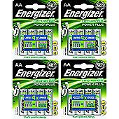 16 x Energizer AA Rechargeable Batteries 2000 mAh Nimh