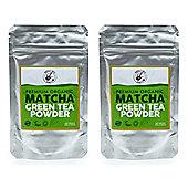 Premium Organic Matcha Green Tea Powder - 2 x 30g Bags (60g)