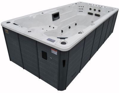 Canadian Spa St.Lawrence Deluxe 16ft Swim Spa Garden Hot Tub