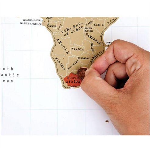 Luckies My Scratch Map