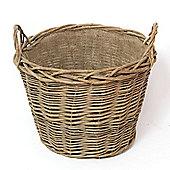 Log Basket Lined