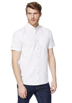 Regatta Damaro Coolweave Short Sleeve Shirt White S