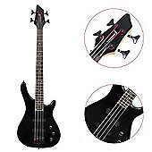 Rocket 3/4 4 String Electric Bass Guitar - Black