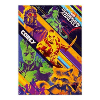Guardians of the Galaxy Personalised Retro Poster