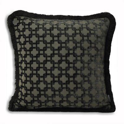 Riva Home Belmont Black Cushion Cover - 45x45cm