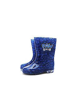 Paw Patrol 'Boys' Wellies Welington Boots - Blue