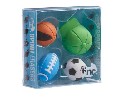Tinc Scented Erasers (set of 4) - Sport