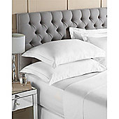Riva Home Egyptian 400 Thread Count Flat Sheets - White
